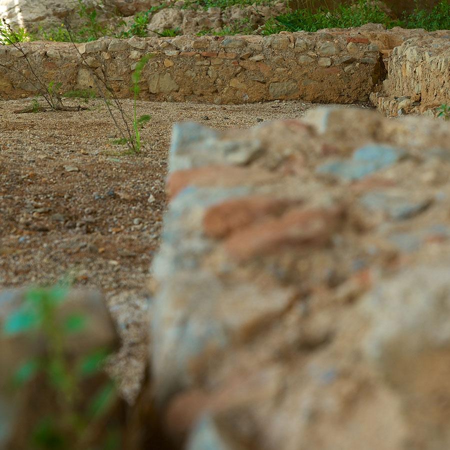 Resti di una villa romana nell'area di Santa Croce